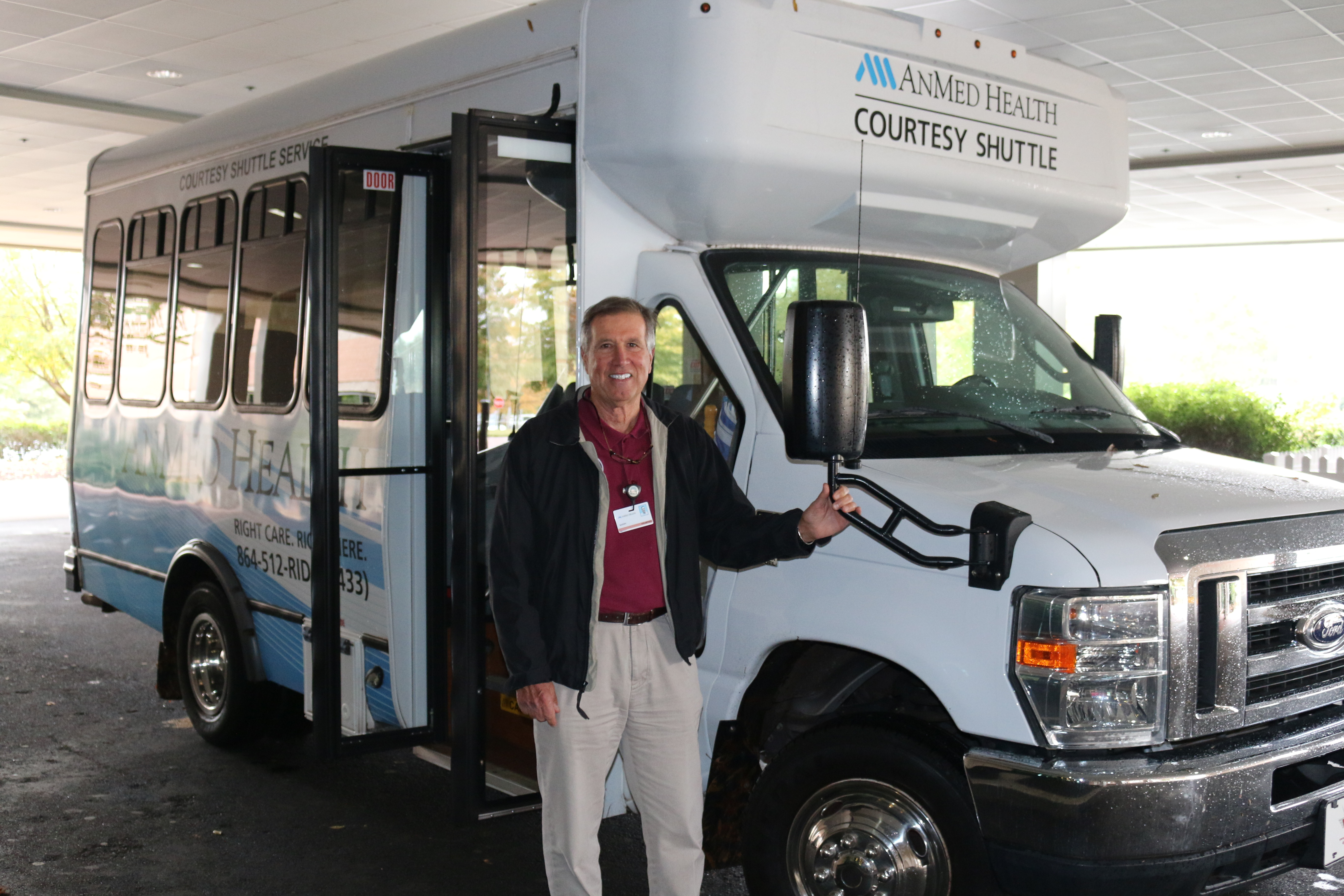 Volunteer Shuttle Drivers AnMed Health