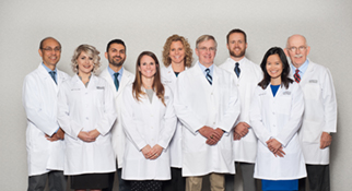 Group Photo of Pulmonary and Sleep Medicine Physicians and Nurse Practioners