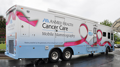 AnMed Health Cancer Care Mobile Mammography